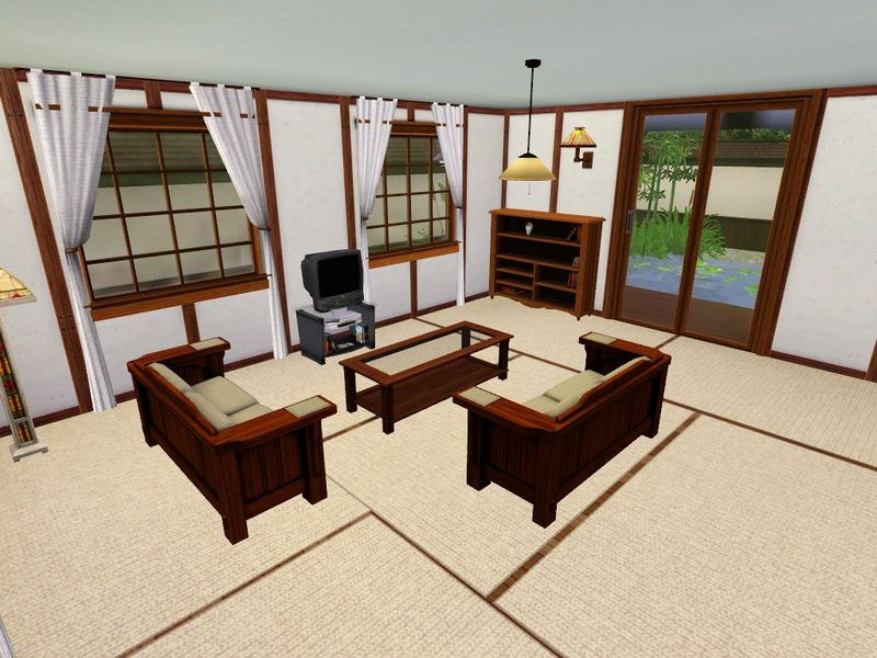 Mod The Sims The Yomoshoto Residence A Traditional Japanese House