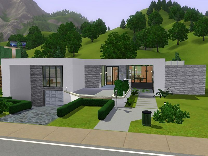 Mod The Sims Aquamarine Yet Another Modern House