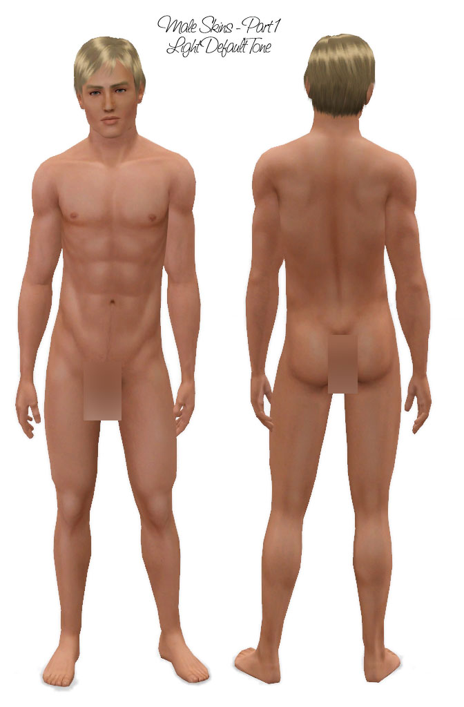 Hot male sim naked consider, that