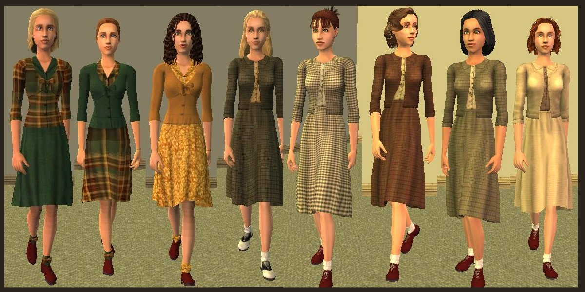 Mod The Sims Vintage Collection Hunter Green Part 6