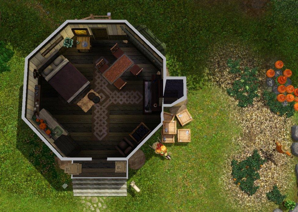 building an outhouse bathroom