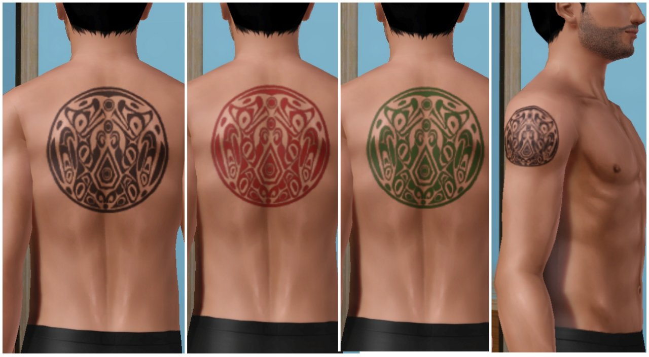 Mod The Sims - Wolf Tattoos