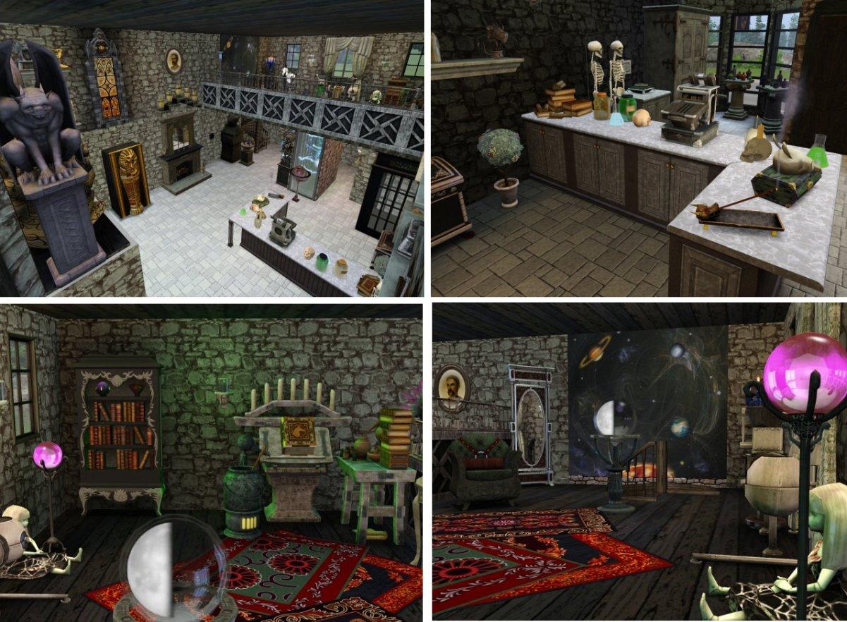 Mod The Sims - Borgin and Burkes Alchemy Shop