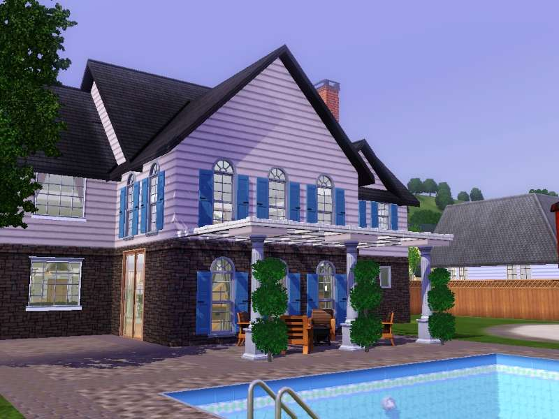 Mod the sims the look at me and my big fancy house house - Fancy houses ...