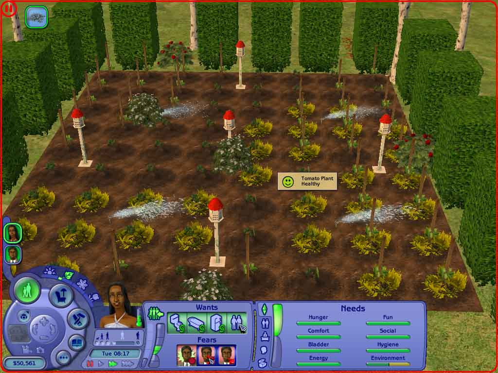 The Sims: FreePlay Questions & Answers for iPhone - iPod - Garden patch monster. . You h