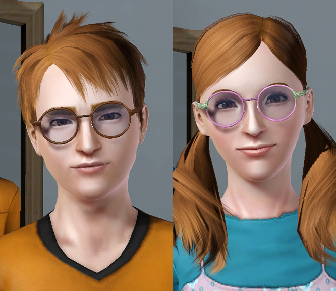 For Men Glasses And Sims Round Teen The Women To Mod Elder Big thrQdsC