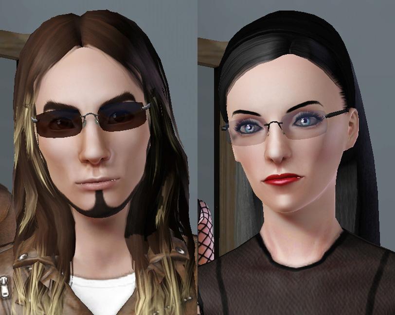Mod Sunglasses Men  mod the sims frameless rectangular clear glasses sunglasses