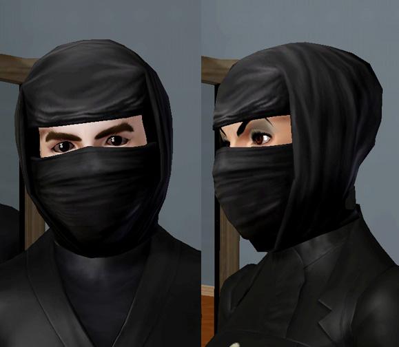 Как сделать из маску ниндзя 636