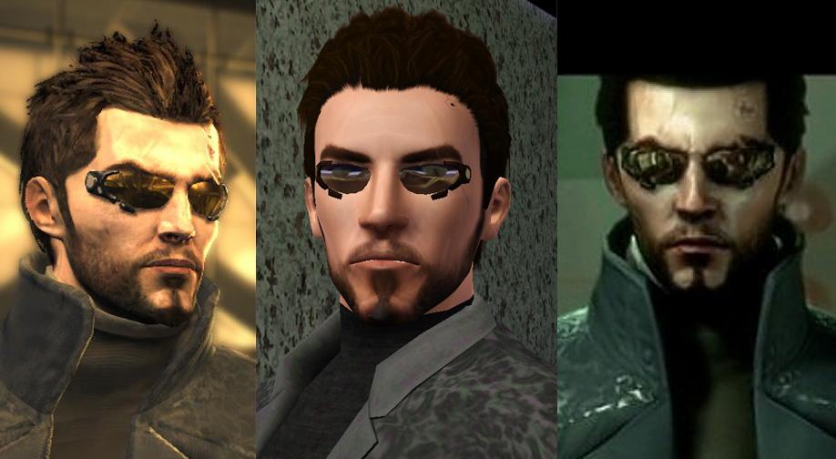 Adam Jensen Glasses Mod The Sims - Deus Ex...