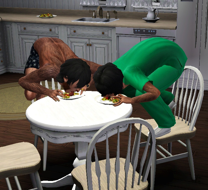 Mod The Sims No Coughing Choking While Eating