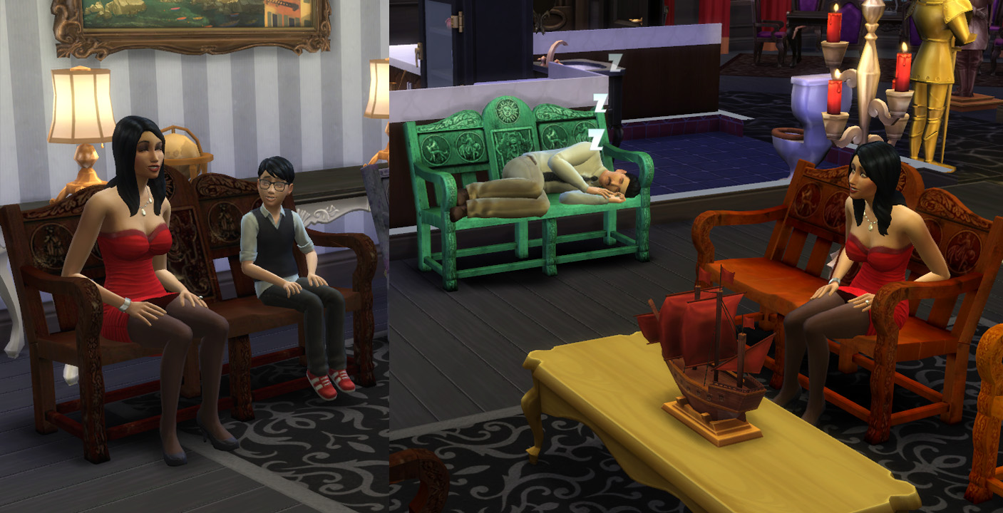 Sims  Sofas Not Working Cats And Dogs
