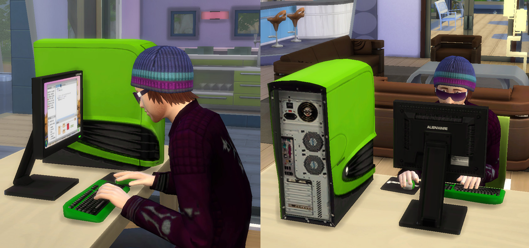 how to buy a computer in sims 4