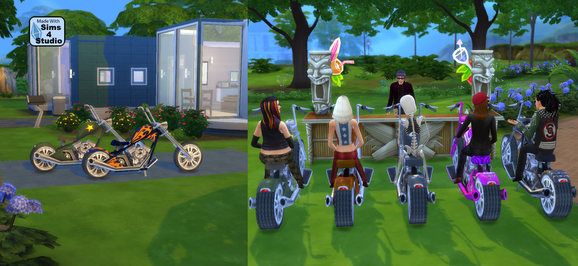 Outstanding Mod The Sims Sittable Motorcycle Ts3 Conversion Caraccident5 Cool Chair Designs And Ideas Caraccident5Info