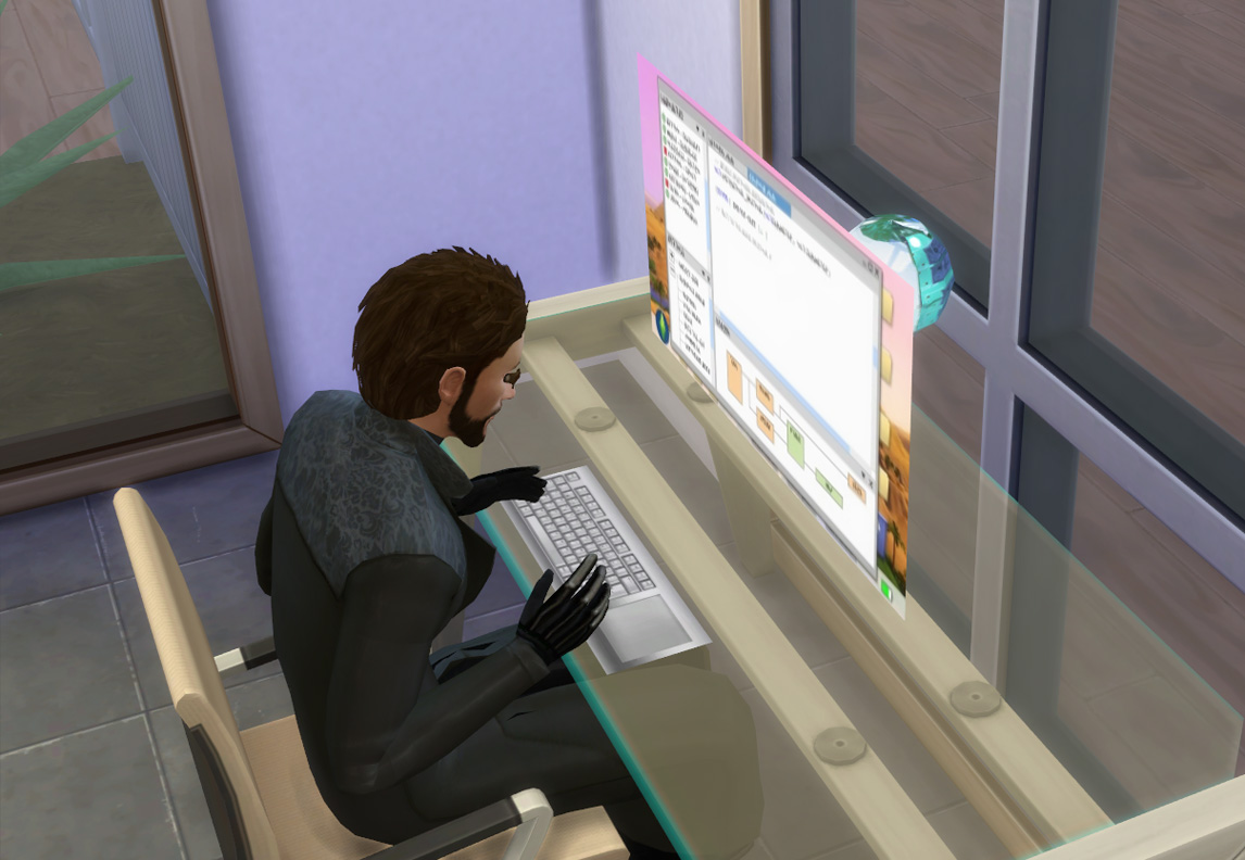 Sims 2 i touch myself 5