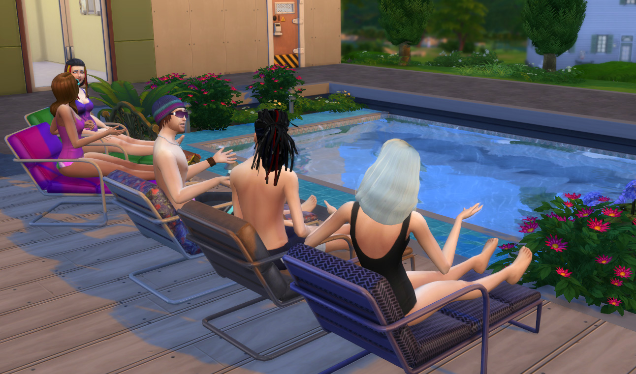 Mod The Sims Functional Lounge Chair