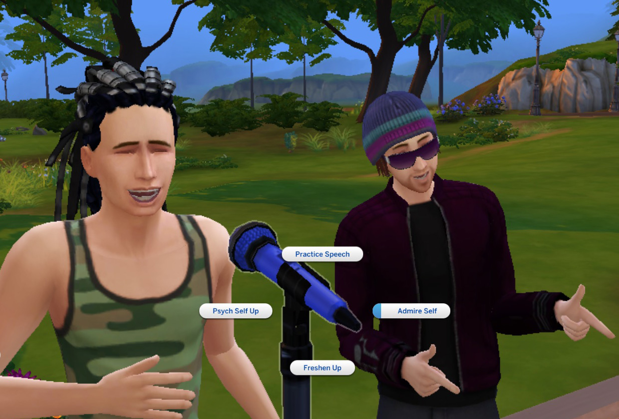 Mod The Sims Alternative Microphone Stand Mirror