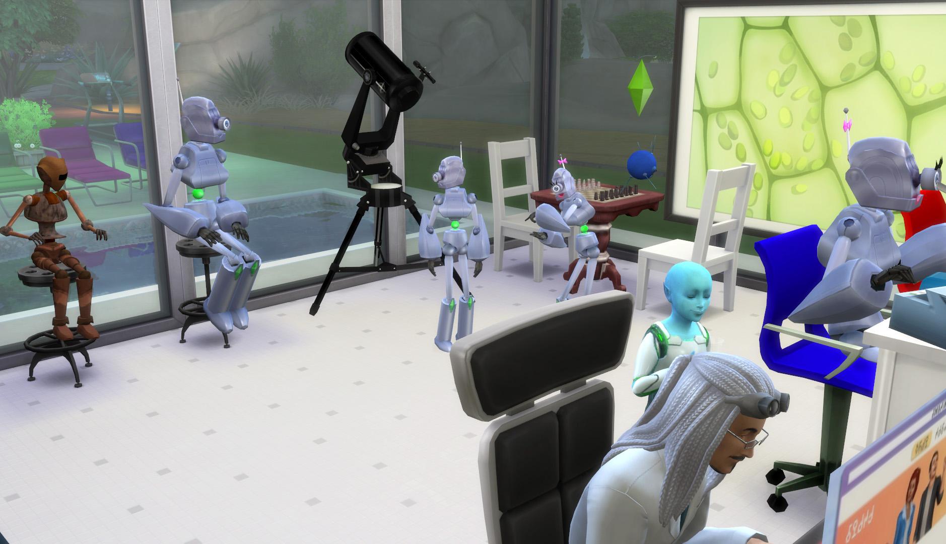 Mod The Sims - Tiny Robots - Kids Robot Costumes