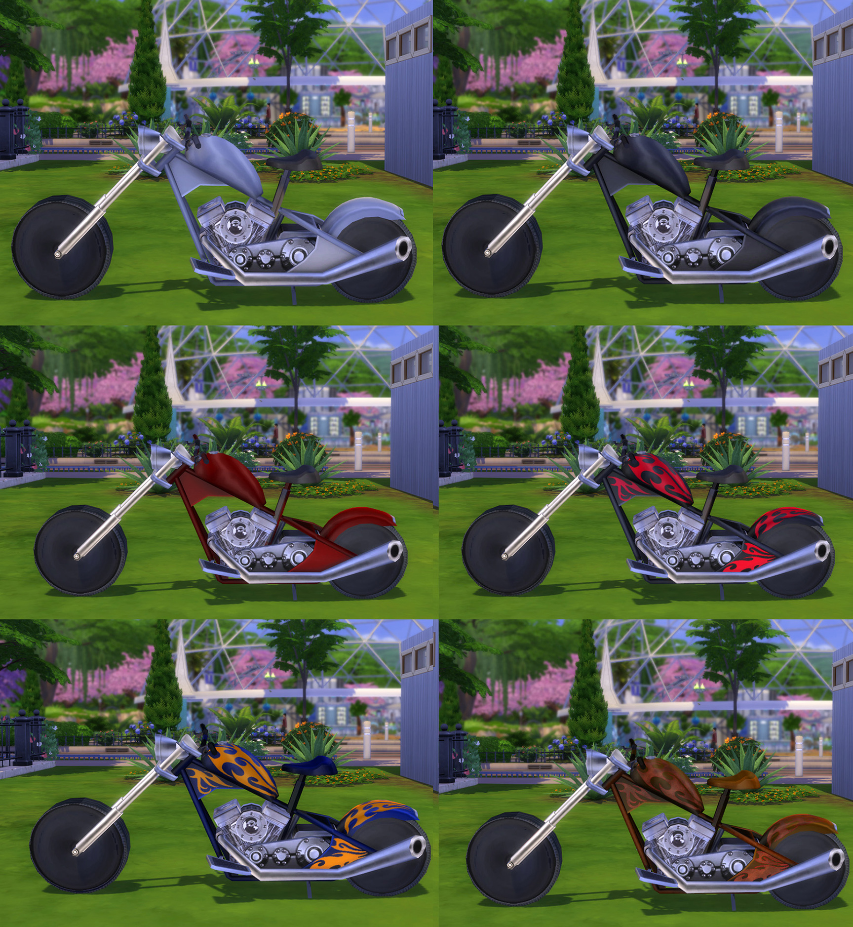 Мод Ездовой мотоцикл