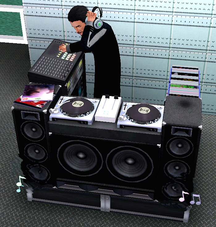 Mod The Sims Sims 2 Dj Booth For Showtime