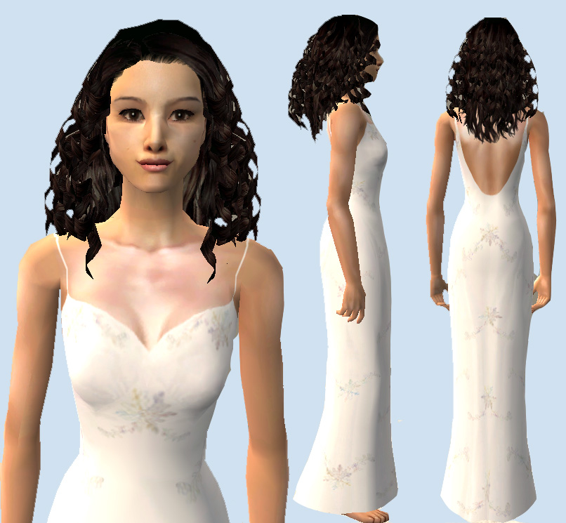 mod the sims the naboo nightgown for padme ep ii