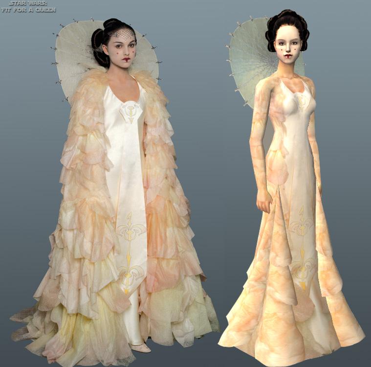 Mod The Sims - Queen Amidala\'s peaceparade gown