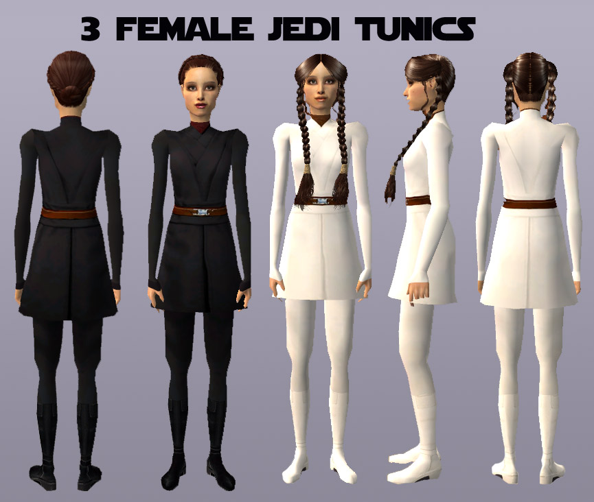 x  sc 1 st  Mod The Sims : female jedi costume  - Germanpascual.Com