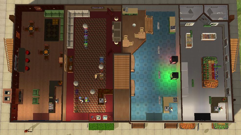 Mod The Sims British Style High Street