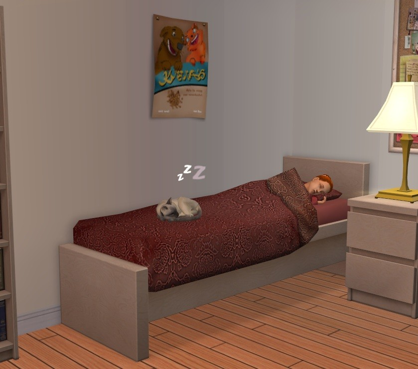 Mod The Sims Pets And Children Share Bed