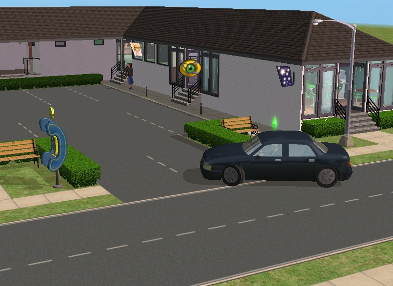 Click on the picture above to view a video. Mod The Sims   Park in the Car Park