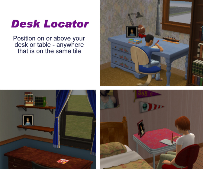 Place The Desk Locator On Or Table In Your Sim Child S Bedroom Upon Wver You Wish Them To Their Homework