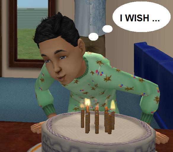 Candles For Birthday Cake Sims