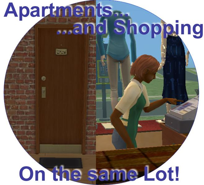 Apartment Shopper: Apartments And Shopping, On The Same Lot
