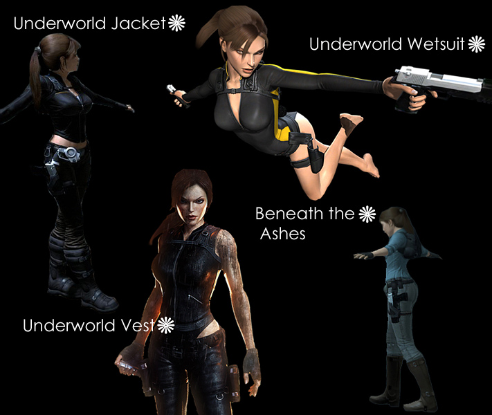 10 Tomb Raider Outfits