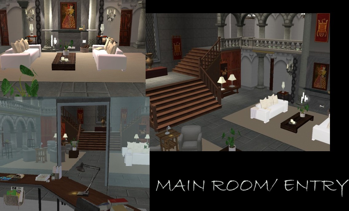 Mod The Sims The Croft Manor Tr7 Legend Unfurnished