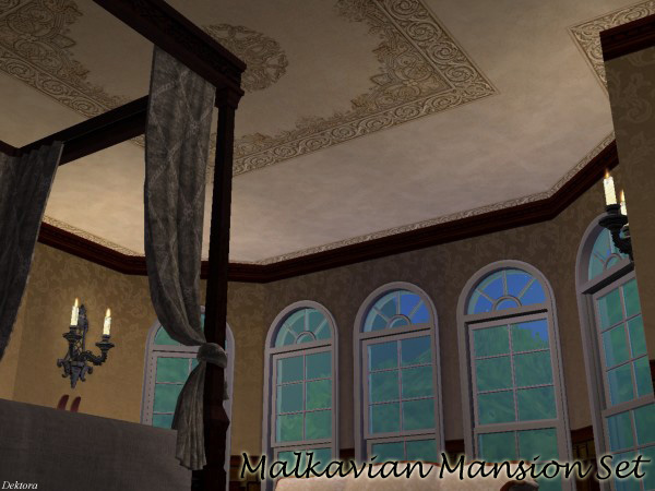 Mod The Sims Malkavian Mansion Ceiling Tiles Recolors