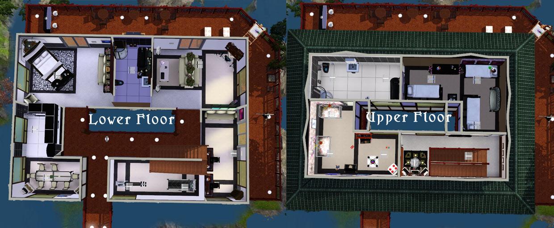 Mod The Sims Japanese Waterfall House : MTSAsante81 977151 floorplan from www.modthesims.info size 1240 x 510 jpeg 157kB