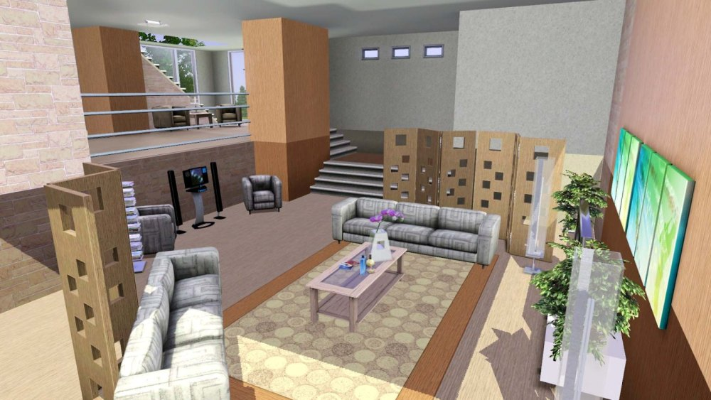 Mod The Sims - Light Modern - By Rosalie Q