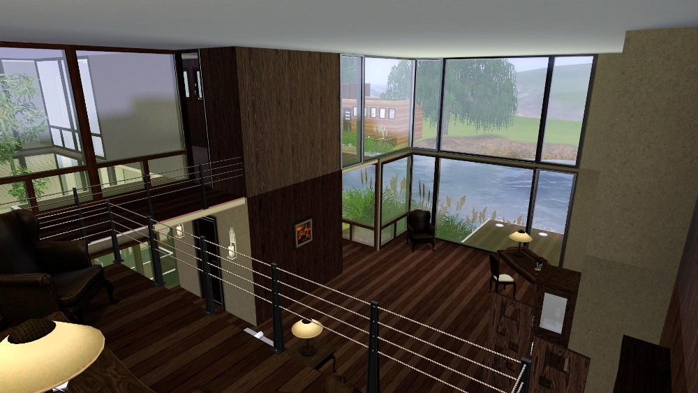 Mod The Sims Quot Mandrakis Residence Quot When A Stranger Calls