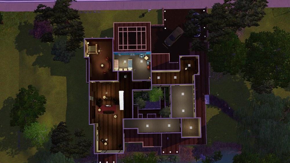 Mod The Sims Mandrakis Residence When A Stranger Calls