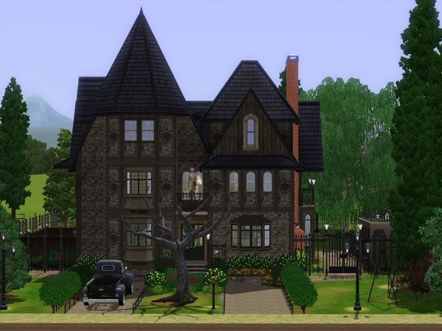 Victorian Gothic Houses mod the sims - hollow house victorian gothic