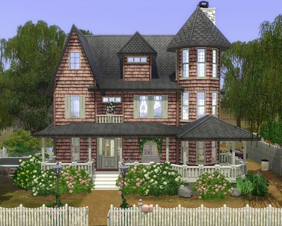 mod the sims - old bayou briars victorian