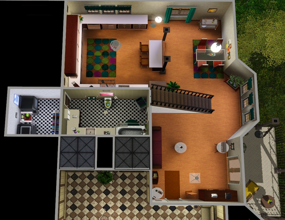 Mod The Sims - Brownstone Bohemian Apartments