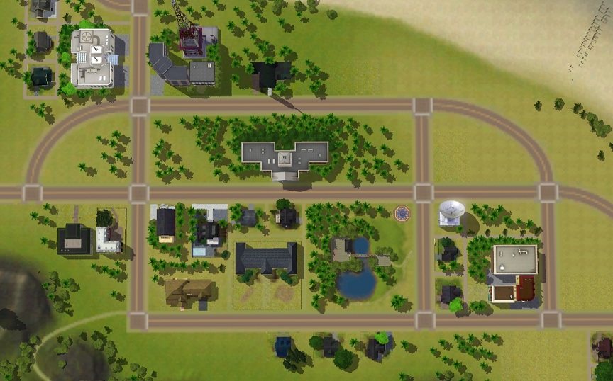 free worlds for sims 3 base game
