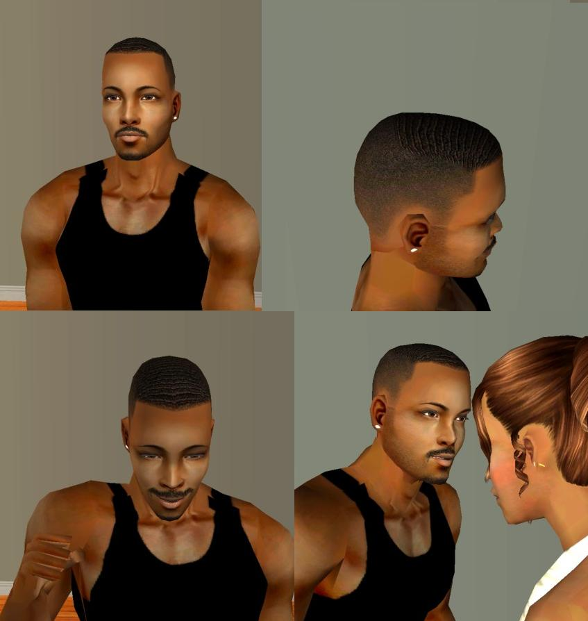 Sims 3 Fade Cut Hairstyle | my sims 3 blog taper fade new