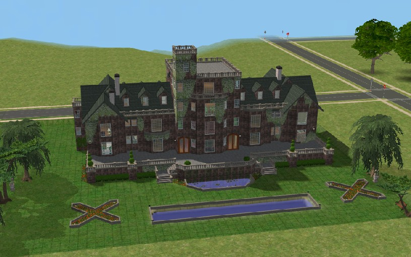 sims 2 japanese fortress - photo #25