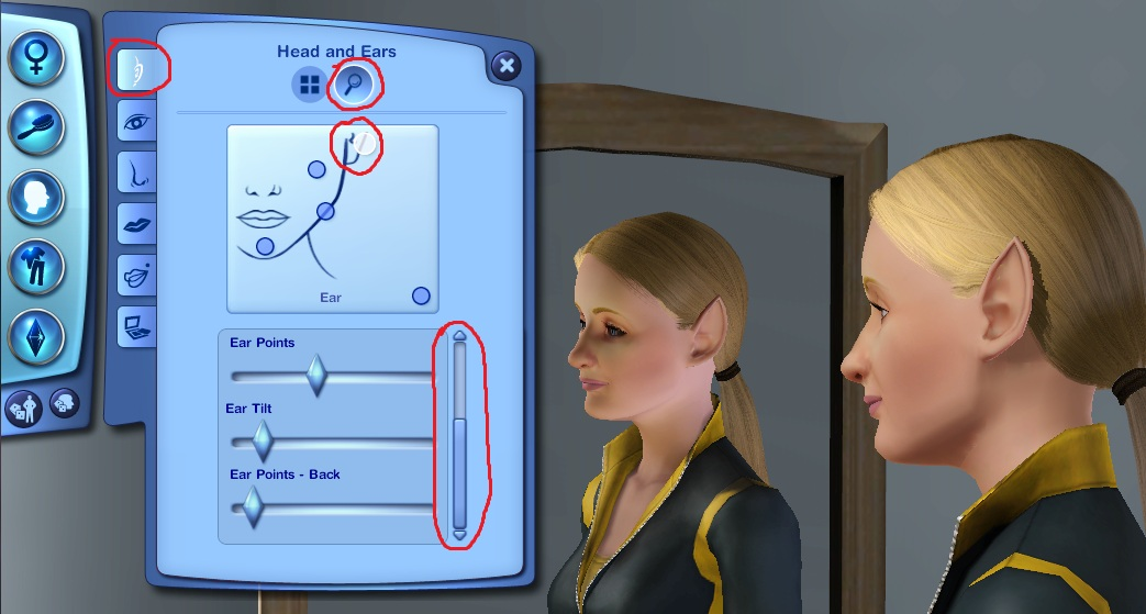 Mod The Sims - How do you get numbers on the sliders?