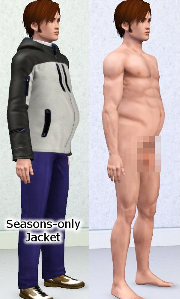 Pregnant Male Sim 5