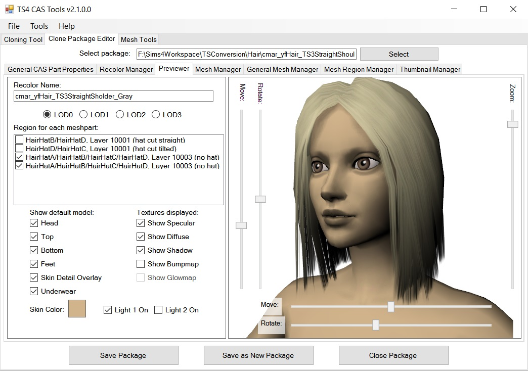 Mod The Sims - S4 CAS Tools - updated to V3 0 0 1 on 7/24/2019