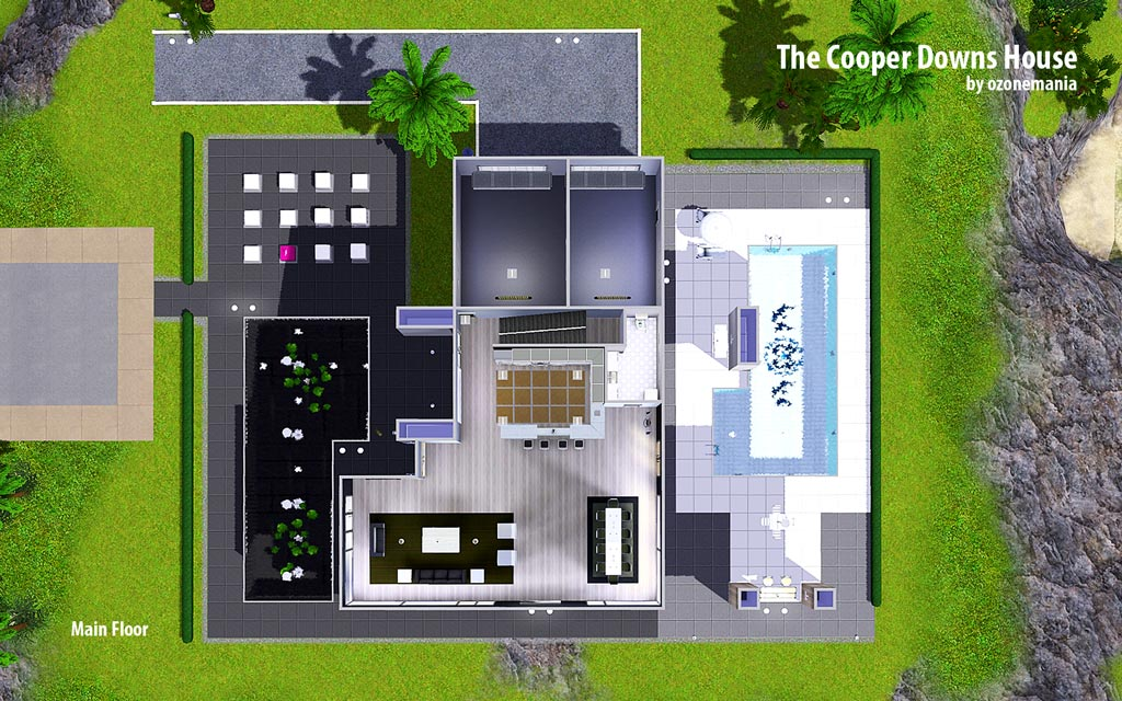 Mod The Sims The Cooper Downs House