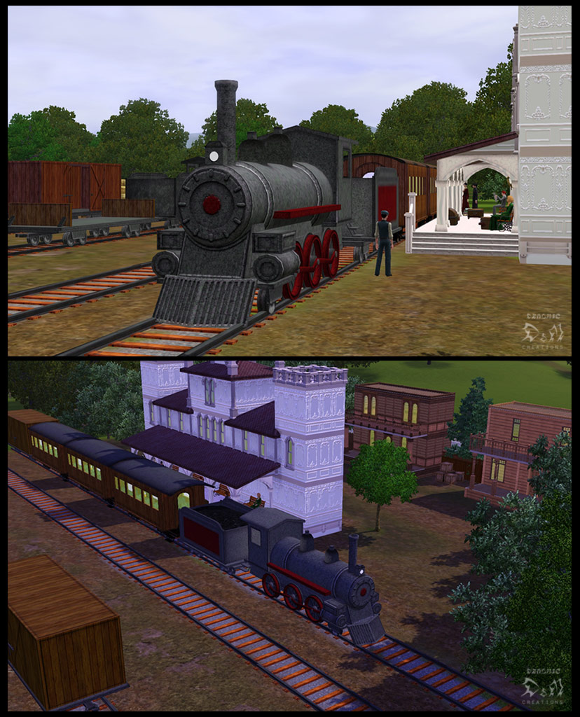 Mod The Sims Decorative Old Train
